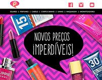 Email marketing Pense Cosmetics