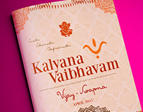 Kalyanam Photo books cover page