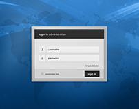 Web-Kiosk Application Interface