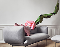 Cloud sofa collection for Bolia