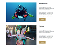 Attractions Page - Hotel WordPress Theme