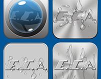 E.C.A Iphone,Ipad uygulama ikon tasarımları