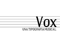 Tipografía Vox