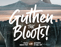 GUTHEN BLOOTS // The Stylish Marker Font