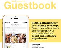 Guestbook - Social Potlucking