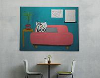 Be You Boo  |  Original Artwork