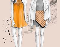 Orange/Salmon Outfits