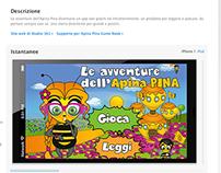 Le avventure dell'Apina Pina Game Book