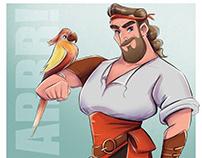 Pirat character