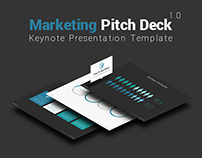 Marketing Pitch Deck Keynote Presentation Template