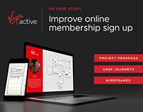 UX: Improve online membership sign up