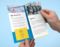 Brochure – Laundry Tri-Fold Template
