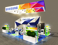 FAIR stand SAMSUNG on Machtool Poznań