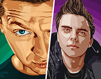 Russian rappers art. Oxxxymiron, Баста, Johnyboy