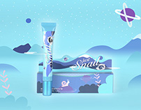Beauty plus - Just Snail Water elements - Packaging