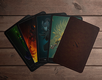 DoTA 2 Tarot Card Project