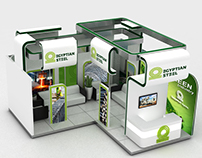 Egyptian Steel Booth
