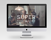 Responsive website Super 16