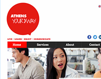 Athens Your Way website