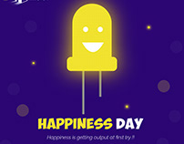 happiness begins from you :)