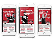 Fridays World Bartender Championship Emails