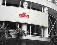 Majestic 10 Cinema Rebrand Concept