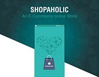 Shopaholic- an e-commerce Mobile App