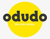 Odudo Slab - Typeface