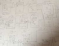 Prototyping for a FinTech app (full result shortly NDA)