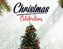 Christmas Celebration – Free PSD Flyer Template