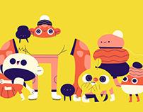 Characters mashup