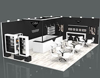 "Exhibition kiosk concept for ""Cellini Espresso"""