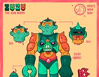 ZUZU The Reaper   角色, 插畫, 設計