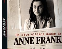 Capa (cover) Os sete últimos meses de Anne Frank