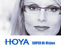 Сайт-визитка HOYA SUPER Hi-Vision
