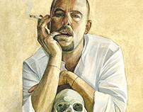 Portrait-Alexander McQueen
