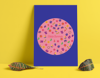 Hello Summer - Print Design