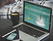 Academy Hospital Web Design