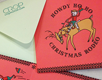 Christmas Rodeo Card