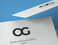 Ottica Galuzzi, business card