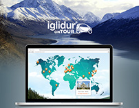 Landing Page - iglidur on tour