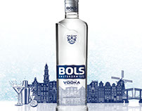 New packaging & brand design Bols Vodka