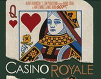 Rediseño de carteles de las películas de James Bond(3)