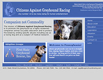Citizens Against Greyhound Racing (pro bono site)