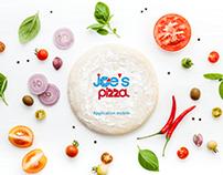 Design Mobile app/ Joe's Pizza
