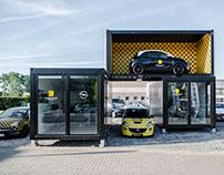 Opel drive-trough