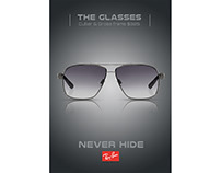 Ray Ban Sunglass Ad (Practice Work)