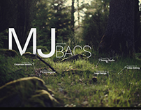 MJ Bacs - Conceptual website design and coding