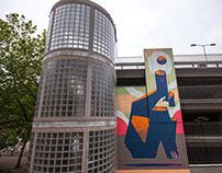 Mural - Writer's Block 2019