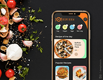 Recipe Realm - UX case study and App design